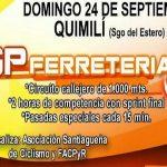 9° Gran  Premio Ferretería  JJ se corre este 24 de Septiembre en Quimili