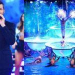 Marcelo Tinelli anunció la cancelación del Aquadance en el Bailando 2017