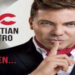 Cristian Castro  se presenta este viernes 10 en Santiago