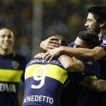 Boca le ganó a Cruzeiro y se quedo con el partido de IDA.