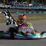 Santiago García tuvo  buen comienzo en el Campeonato Santiagueño de karting